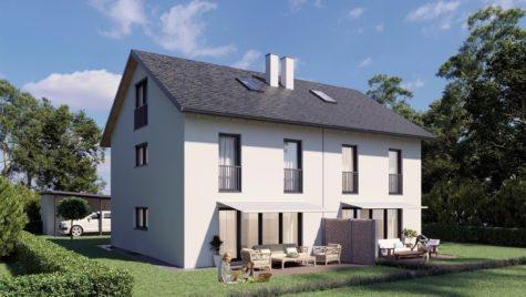 Neubau! Moderne Doppelhaushälfte (Haus 2) mit sonniger Südausrichtung, 85467 Neuching, Doppelhaushälfte